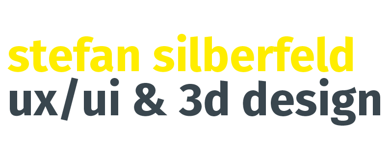 stefan silberfeld - ux/ui & 3d design