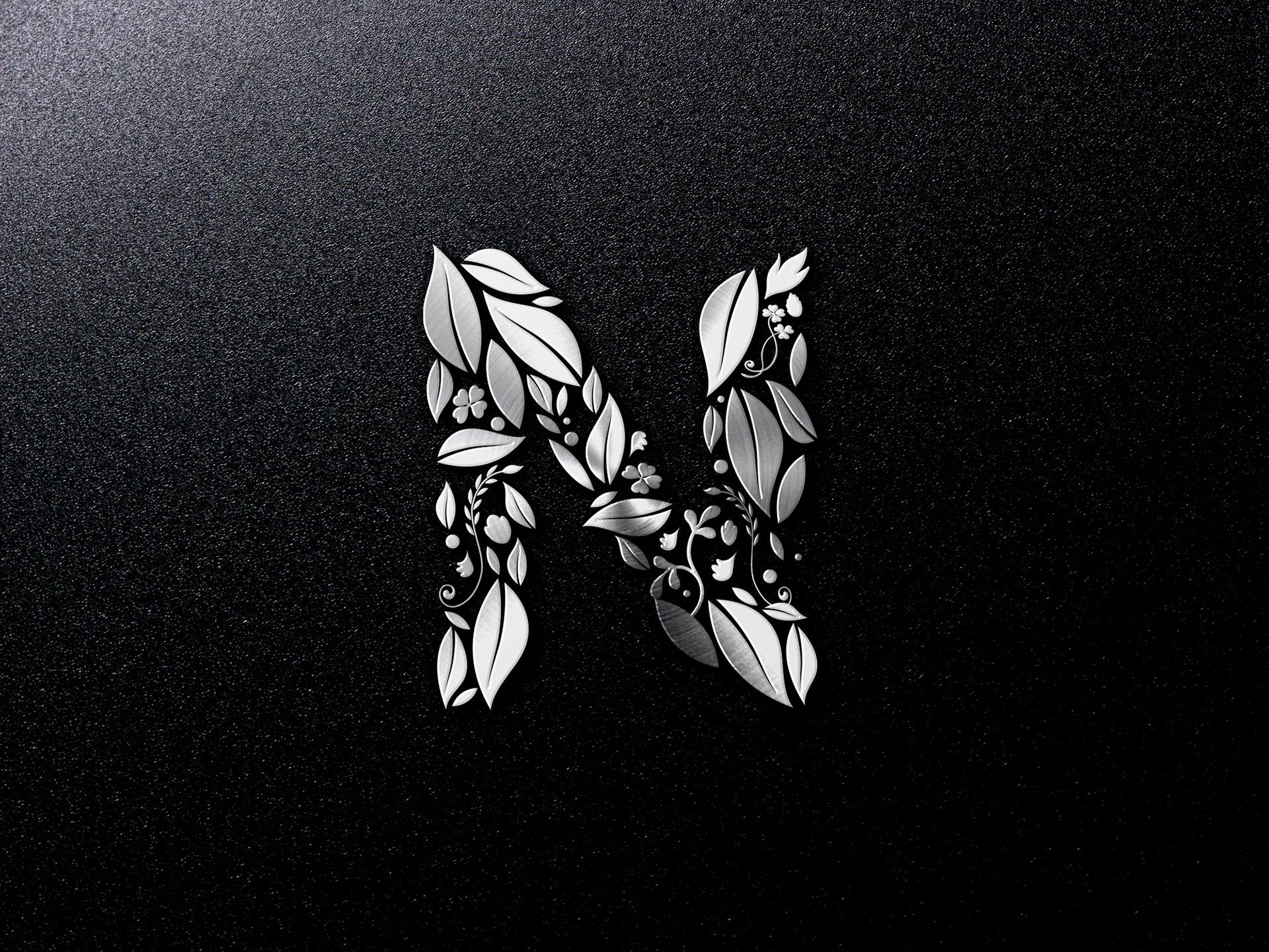Hd Wallpaper Letter N: Logo Design (Logo設計)