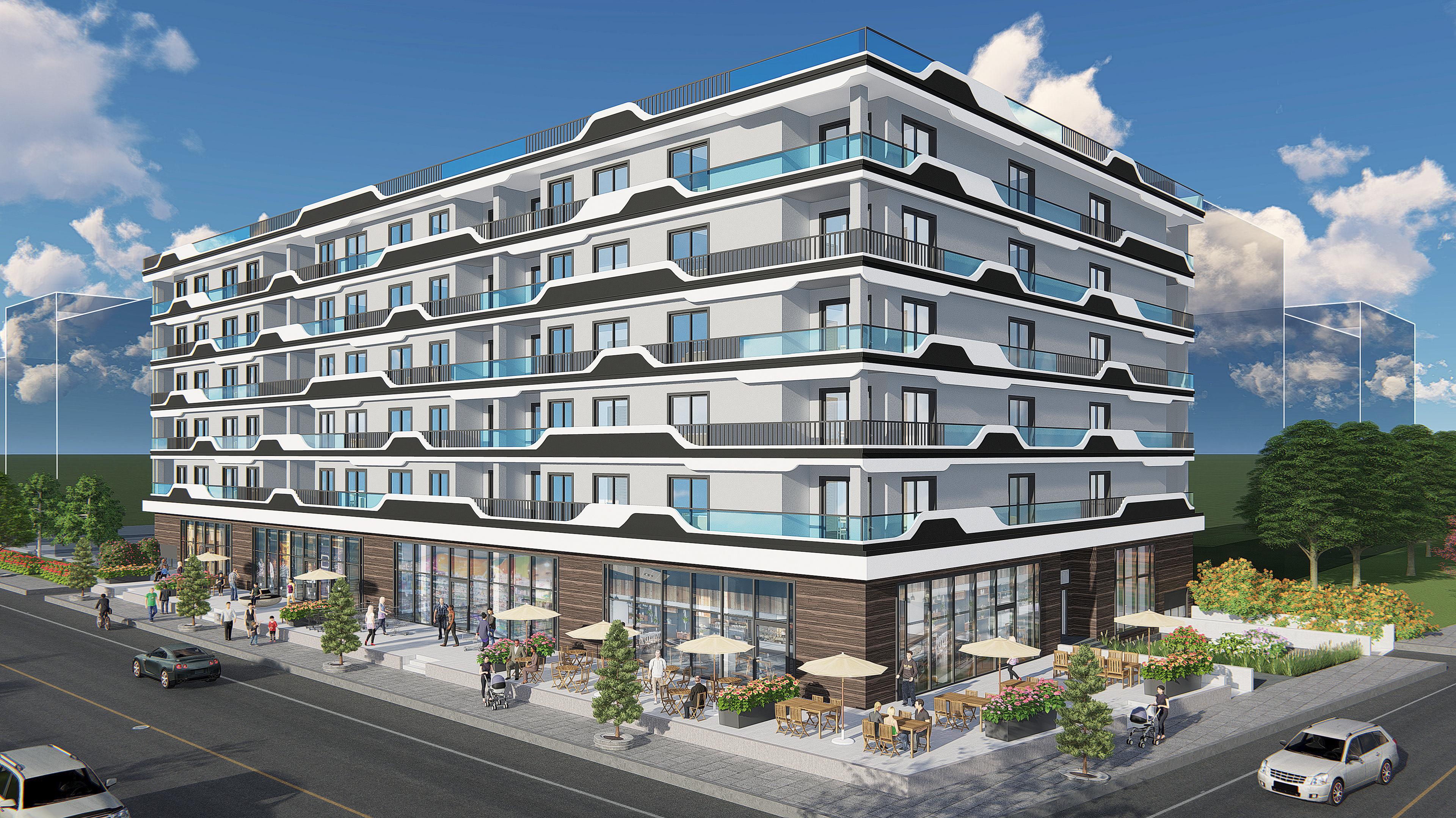 Ezgi Üstüner's Architectural Portfolio - Mixed Use Building