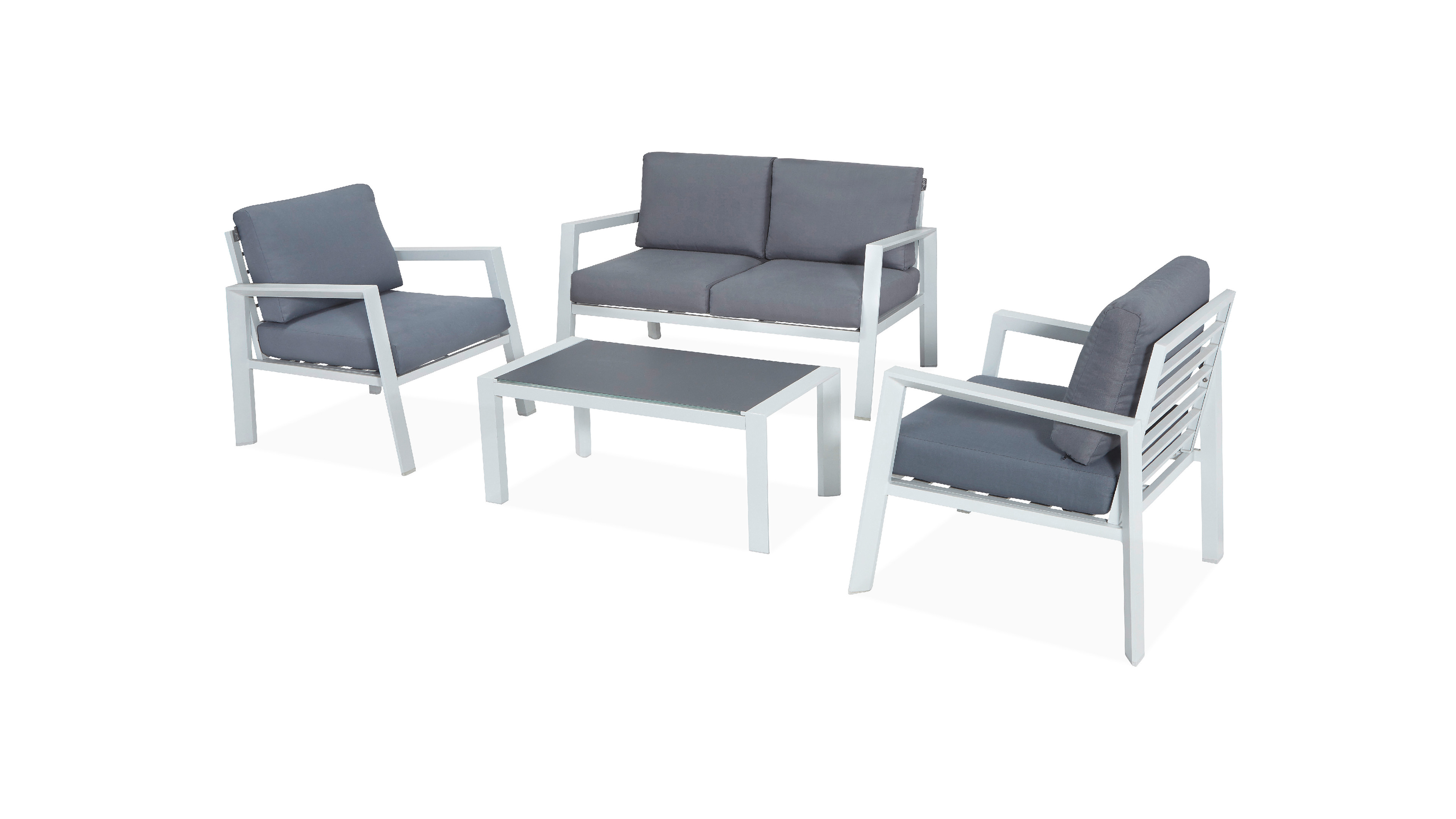 Designbycarrefour Aluminium152 Hyba # Table De Jardin Hyba