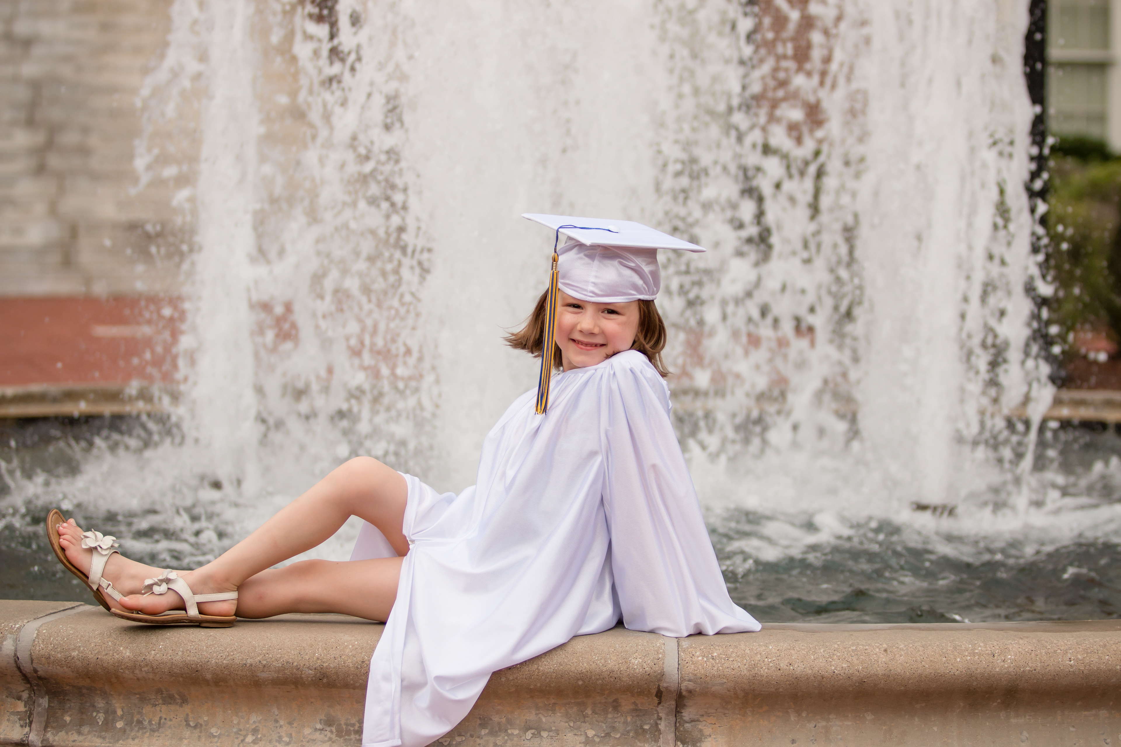 Cap And Gown For Kindergarten - Kindergarten is a huge step in your little ones life celebrate it with a casual cap gown session to cherish these memories forever