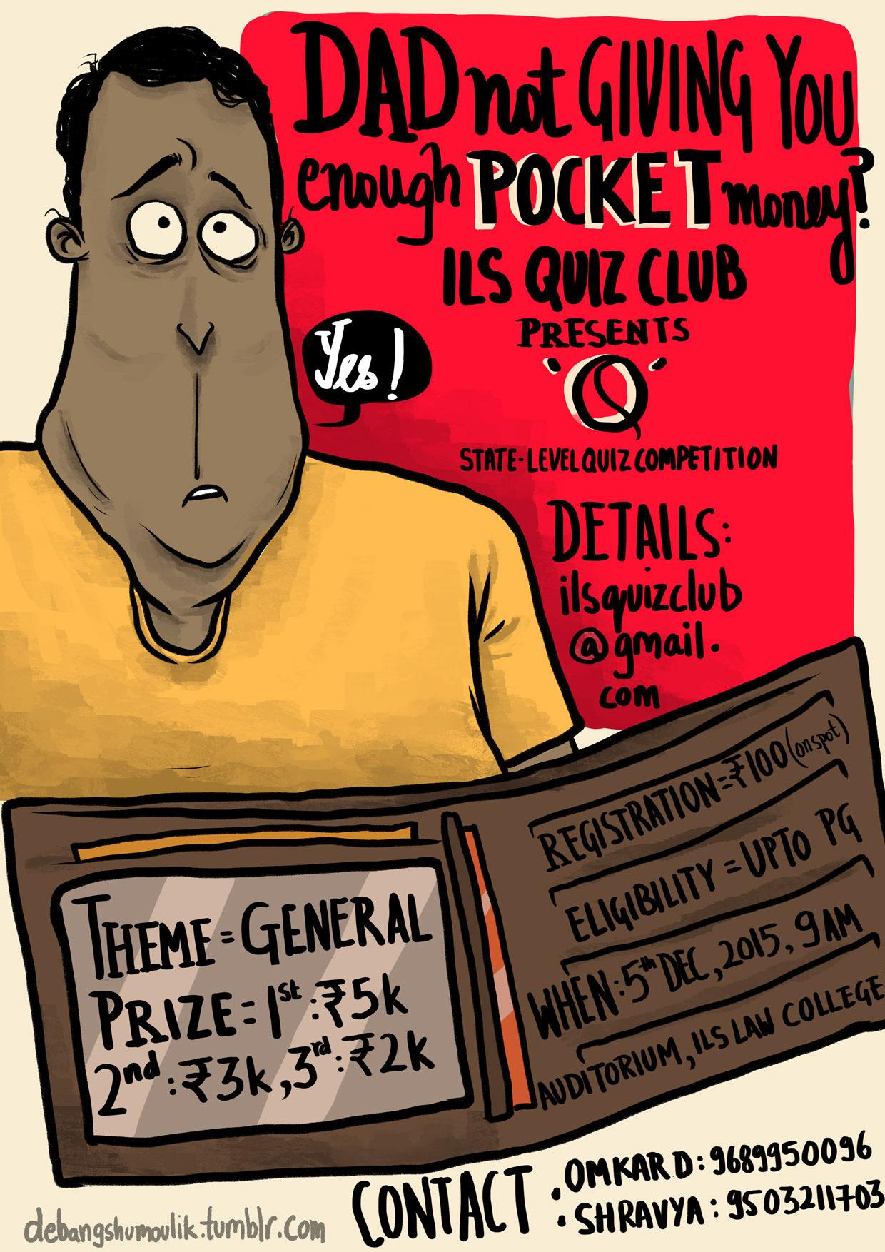 Debangshu Moulik - Event Posters
