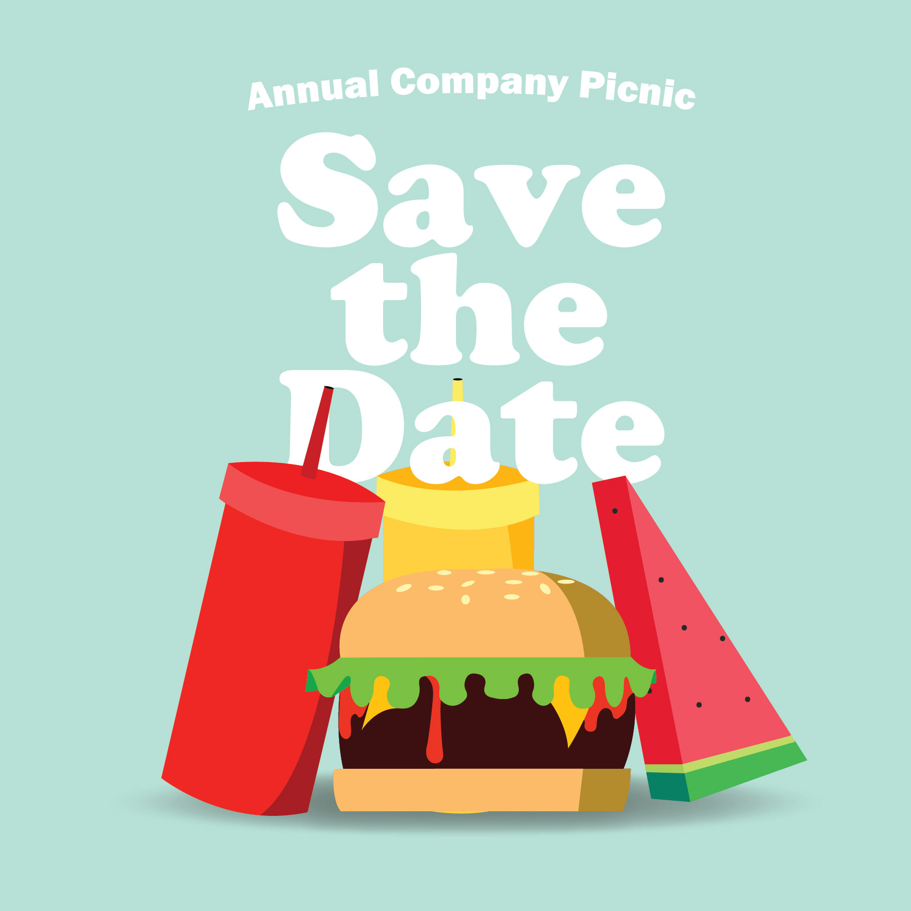 Hotfunmia Picnic Season Save The Date