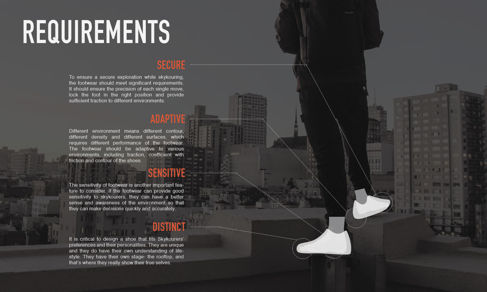 I Hope Can Create A Distinct Footwear Design To Help Skykourers Perform Better Reflect Their Attitude And Promote This Sport