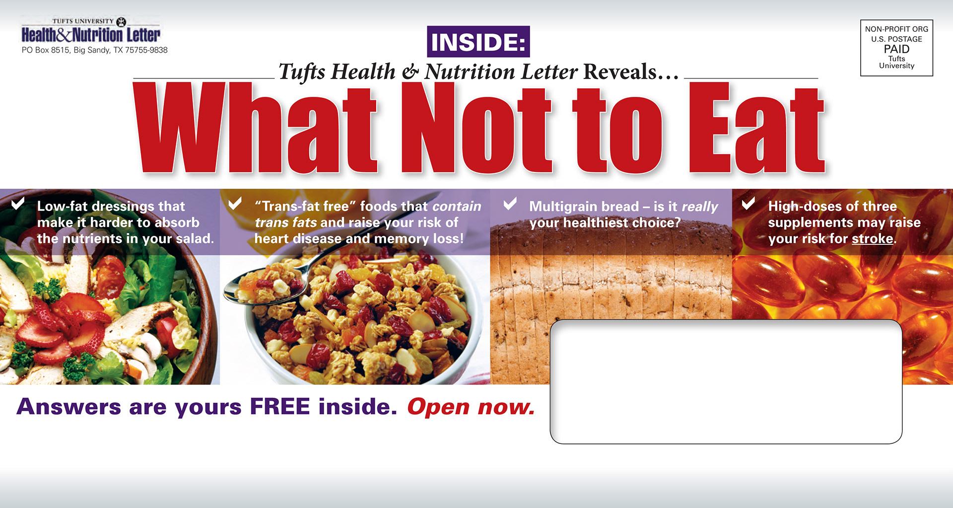 Ericka Dreisbach Tufts Health Nutrition