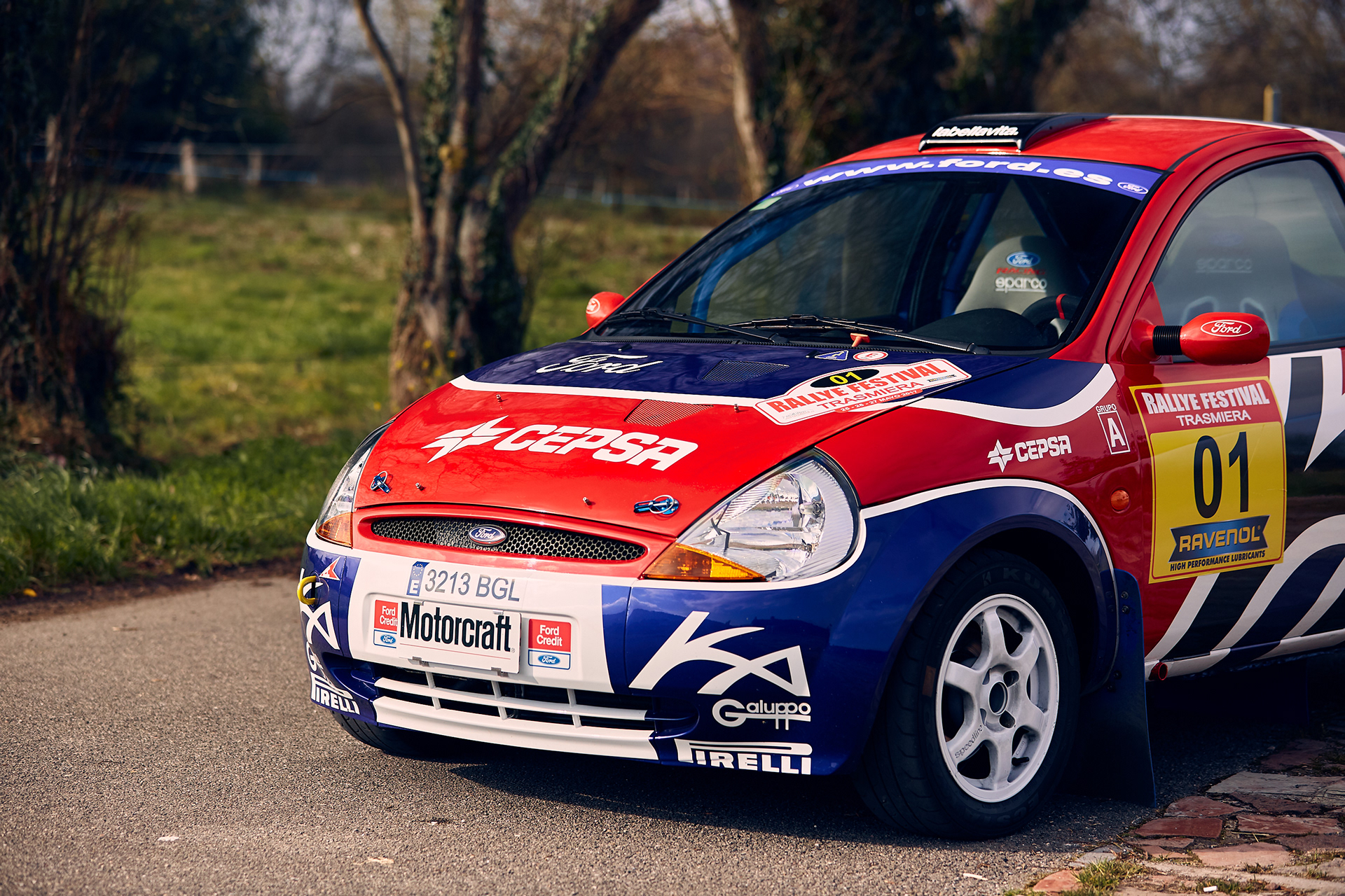 Photography From The Ford Ka Rally Car