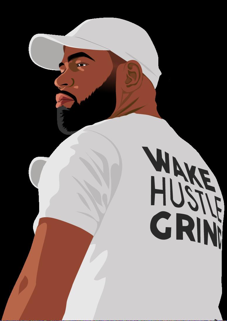 Kevin Conwell Wake Hustle Grind