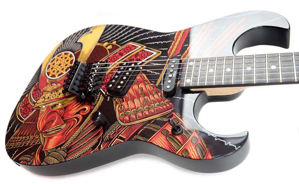 official palehorse portfolio dying samurai palehorse guitar design